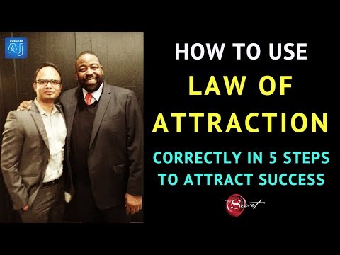 ✅5 steps law of attraction formula to attract anything you want | how to use law of attraction  fast