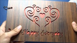 The BEST PHOTO ALBUM for your GF/BF| Valentine's Day Gift | Unboxing and Review