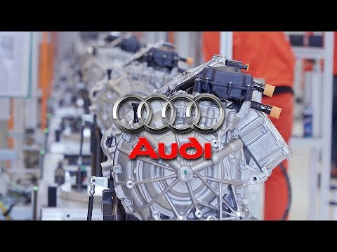 Audi Factory - E-Engine Production