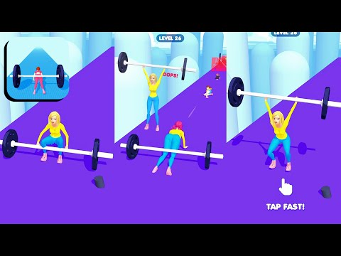 Barbell Girl🏋️💃*BIG UPDATE* NEW GAME😍: GameplayWalkthrough All Levels Andriod,ios