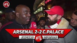 Arsenal 2-2 Crystal Palace | Fans Have Had Enough Of Xhaka! (Turkish)