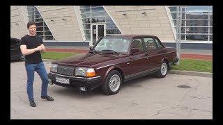 танкообразный Вольво 240 Classic в идеальном состоянии!! Единственный в России