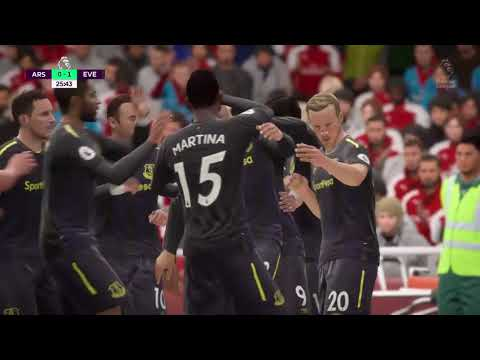 Liga Inggris 2018| Arsenal vs Everton 5-1 ramsey cetak hattrick