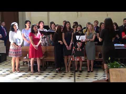 """Corul Bisericii Adventiste Grenelle Paris """"Cu Tine prin credinta"""" 26 mai 2018"""
