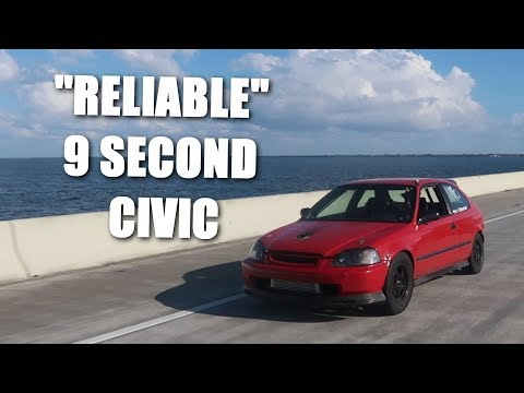Drove 4000 Miles In a 9 Second Turbo Civic!