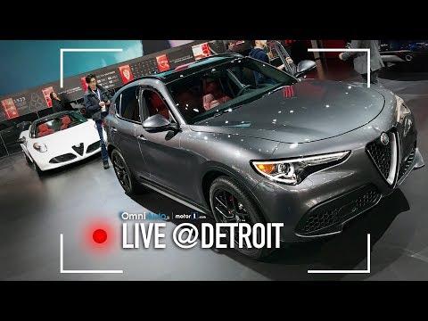 Aspettando la prossima Alfa Romeo... SUV!   Salone di Detroit 2018
