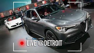 Aspettando la prossima Alfa Romeo... SUV! | Salone di Detroit 2018