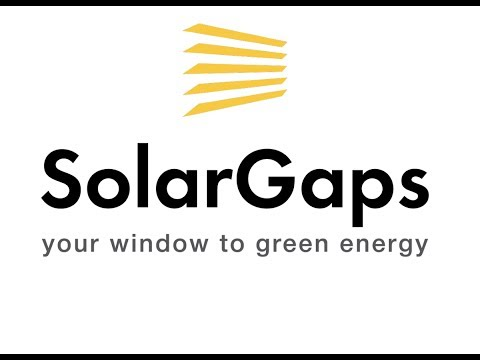New Technology fitted to Solar panels in Windows by Solargaps