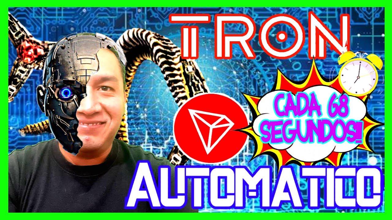 🤖 Cómo Ganar Tron (TRX) GRATIS, En AUTOMÁTICO y al Instante