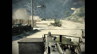 Battlefield Bad Company 2 PC Gameplay HD (8500GT)
