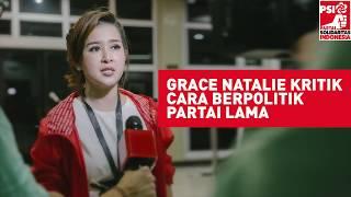 Pidato Menohok Grace Natalie untuk Politisi Lama #PSInomor11