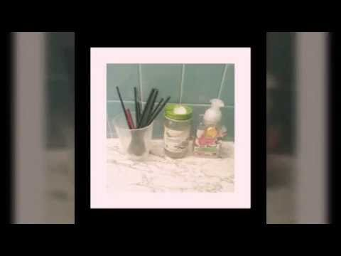 how to clean makeup brushes with coconut oil. diy how to clean your make up brushes with coconut oil makeup