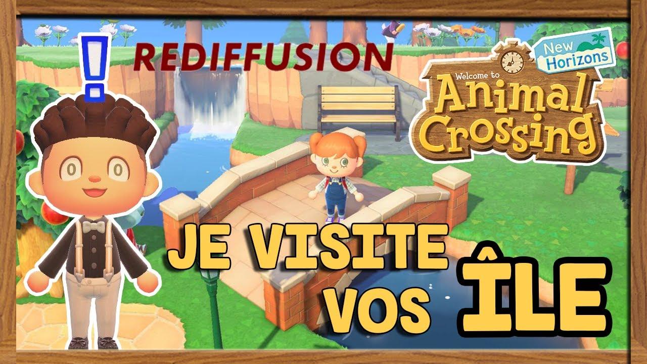 JE VISITE VOS ÎLES - Animal Crossing New Horizons - LIVE ...