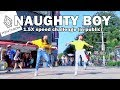 PENTAGON(펜타곤) _ Naughty boy(청개구리) 1.5X Speed Challenge in public (ft.曉嵐Hsiao Lan)
