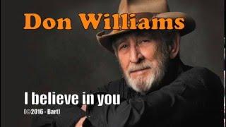 Don Williams - I Believe In You (Karaoke)
