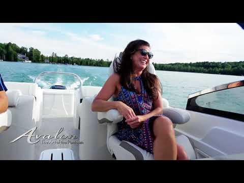 2018 Pontoon Boat AVALON EXCALIBUR | Highest Quality Pontoon Boats