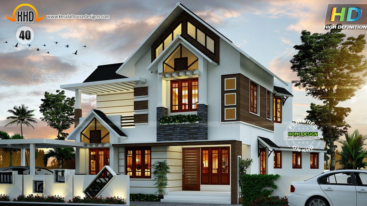 New house plans for september 2015 youtube for Latest house design images