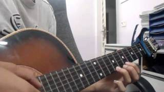 Nhớ em (Minh Vương) - Guitar solo