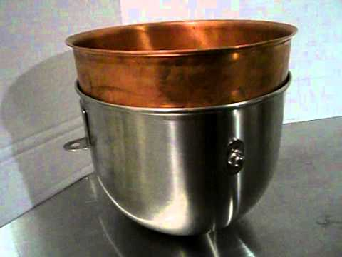 Copper Kitchen Aid Paint For Walls Atlas Bowl Insert Kitchenaid Hobart Mixer Youtube