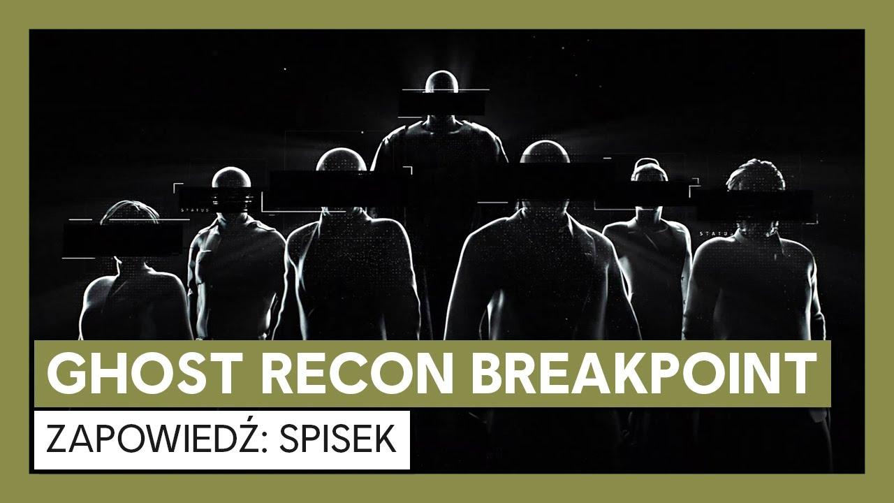 Ghost Recon Breakpoint: zapowiedź Spisek