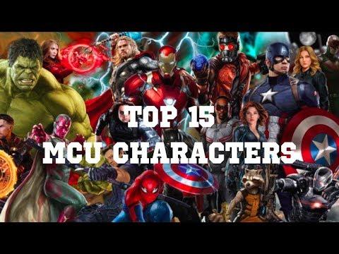 RANKING THE TOP 15 MCU CHARACTERS Films & Netflix s