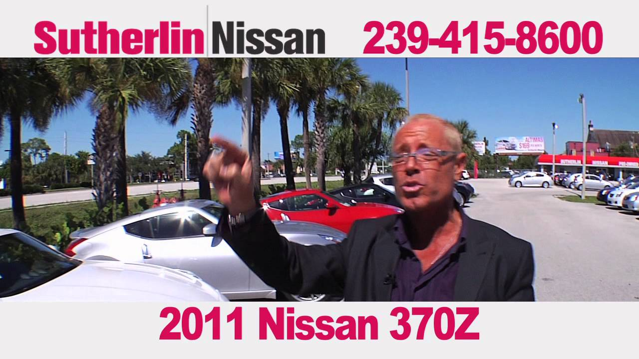 Sutherlin Nissan 2011 370Z (Fort Myers)