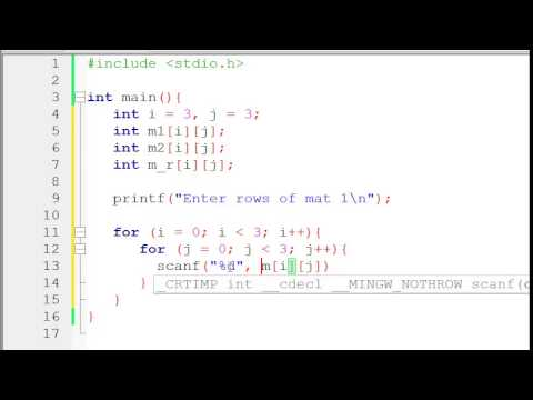 Latest C programming video tutorial for beginners free download MP4