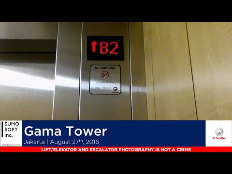 Brand New Schindler Parking Lifts at Gama Tower, Jakarta