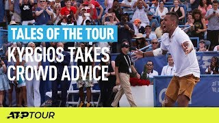 When Fans Coach Tennis Players   TALES OF THE TOUR   ATP