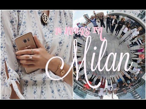 24 Hours in Milan!  |   Fashion Mumblr Travel Vlog