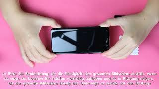 AloMit-DE s9 Schutzfolie Installationsvideo 8.22