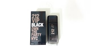 Carolina Herrera 212 VIP Black Fragrance Review (2017)