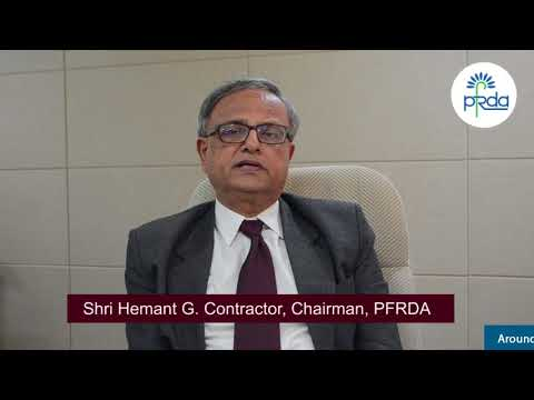 PFRDA Chairman's Video Message During A Workshop On NPS Implementation In Andhra Pradesh