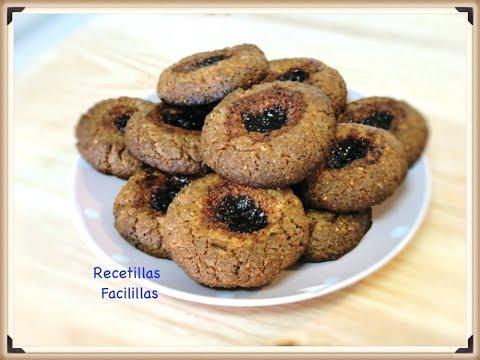 ♡-galletas-integrales-con-mermelada-🍪-receta-casera