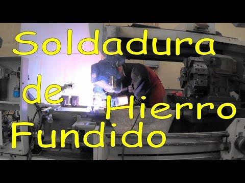 Soldadura con electrodo revestido de hierro fundido youtube - Baneras de hierro fundido ...