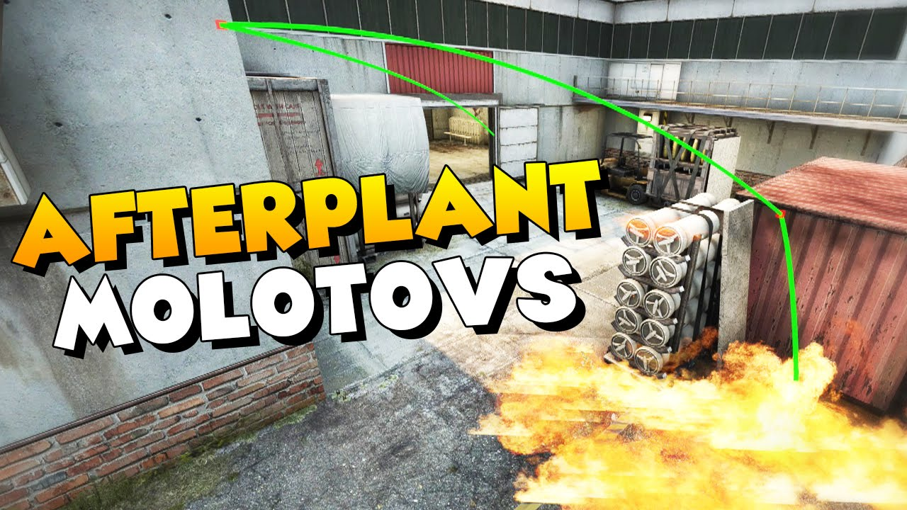 CS:GO - Useful Afterplant Molotovs