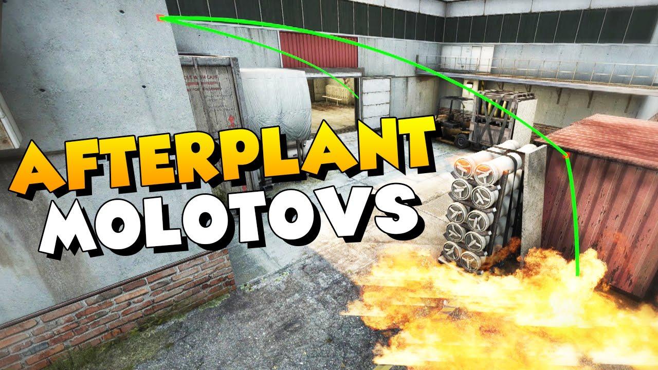 CS:GO - Useful Afterplant Molotovs