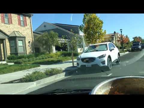 Driving Larkspur Lucky to a better long-term parking spot; California