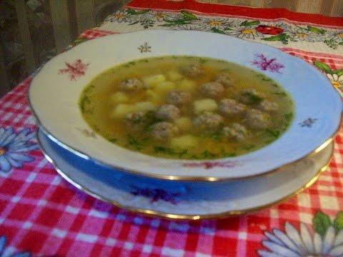 Вермишелевый суп с фрикадельками пошаговый рецепт с фото