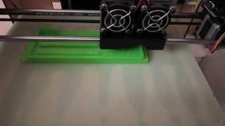 Печать на 3D принтере Mbot 3D Double Head