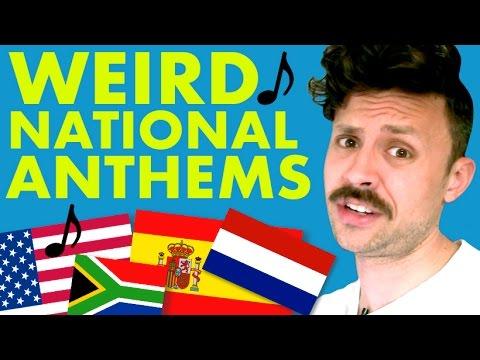 Weirdest National Anthems