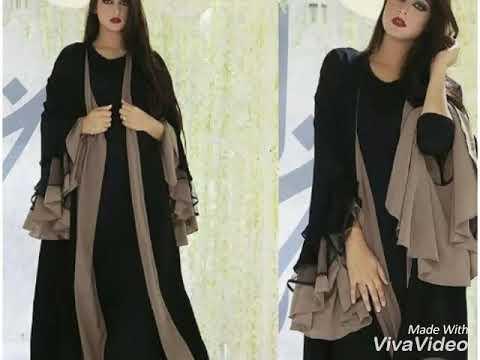 Abaya designs | Dubai abaya fashion|  burkha collections | burkha designs| 2018