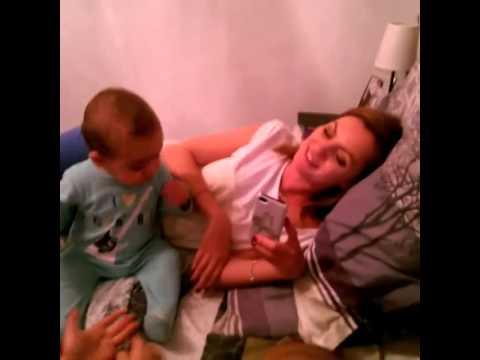 Alexandra Stan - cu Sofia si Pavel