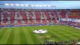 Atlético de Madrid - Barcelona | Impresionante tifo