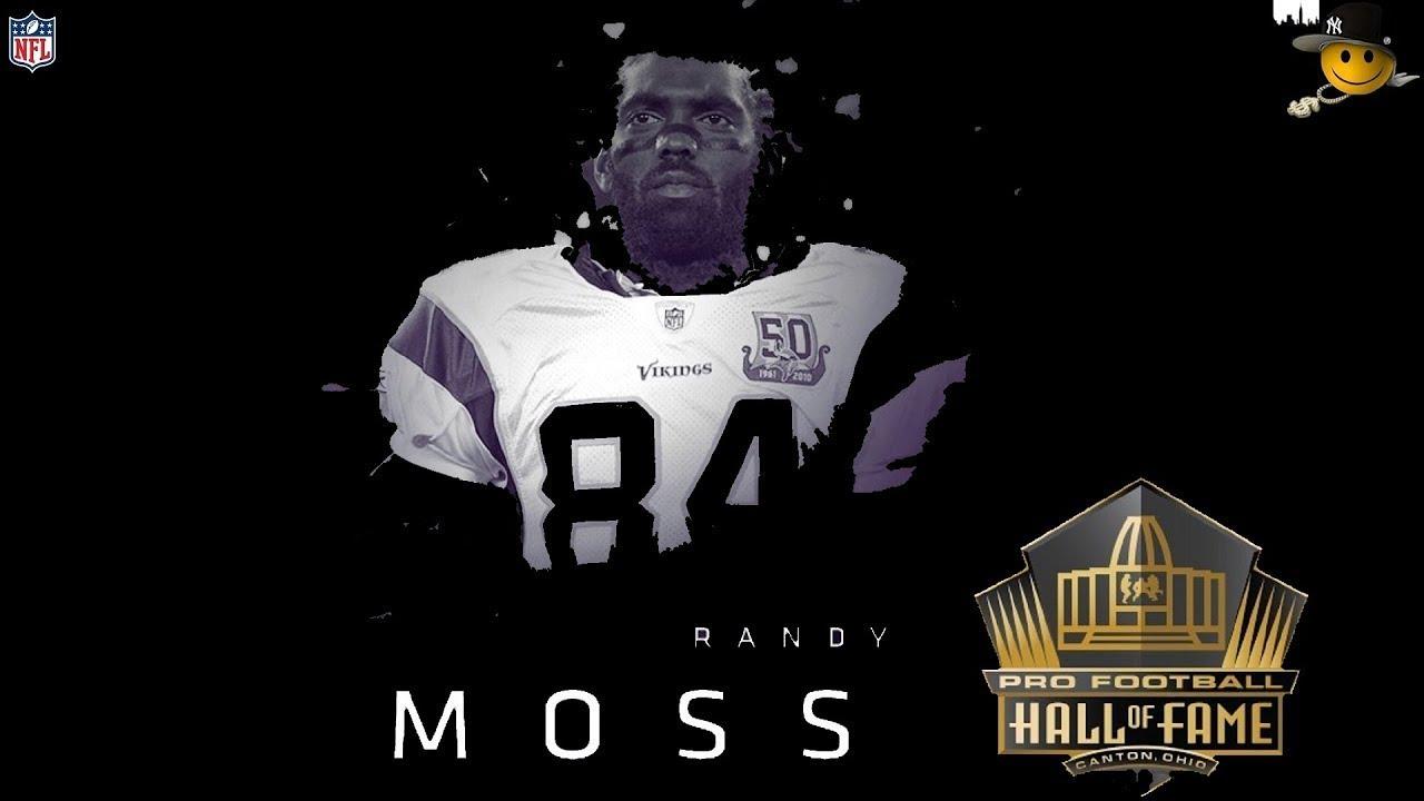 finest selection 0332d 6e472 Randy Moss (First Ballot Hall Of Famer) NFL Legends