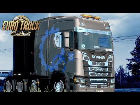 Beyond Baltic Sea DLC !!! Euro Truck Simulator 2 - #184