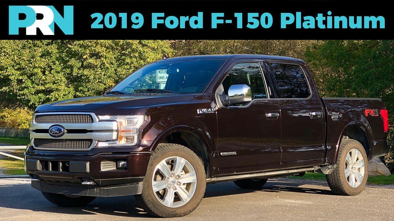 2019 Ford F 150 Platinum Powerstroke Turbo Diesel V6 Testdrive
