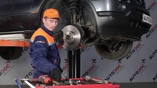Hogyan cseréljünk Lengőkar BMW X5 (E53) - video útmutató