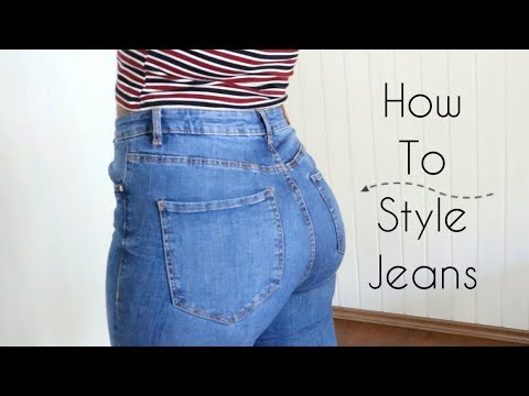 How to Style Jeans - For Curvy and Short Girls. http://bit.ly/2zwnQ1x