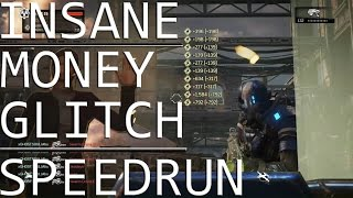 Gears of War 4 - HORDE INSANE | SPEEDRUN + MONEY GLITCH
